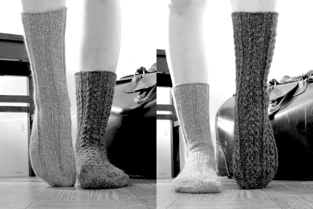 trume socks side by side