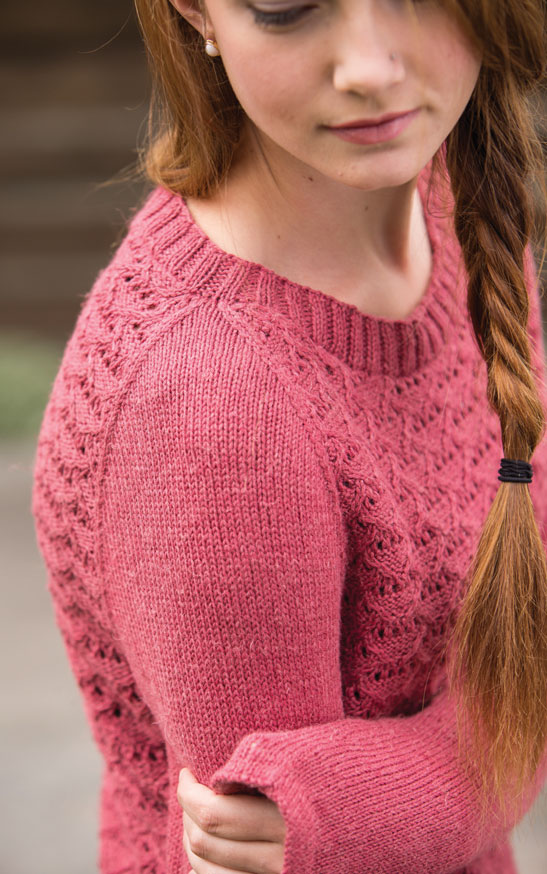 Unexpected Cables - Talmage Pullover beauty image II